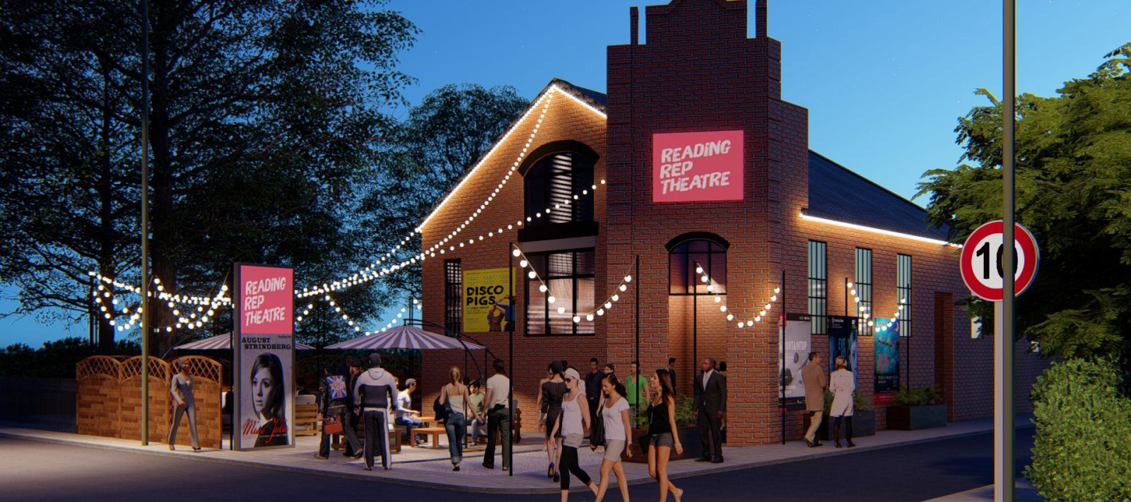 New Reading Rep theatre